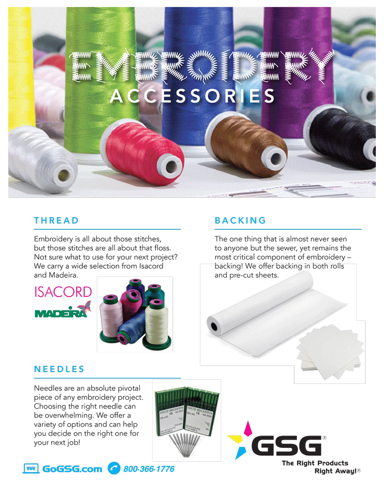 Embroidery Accessory Guide