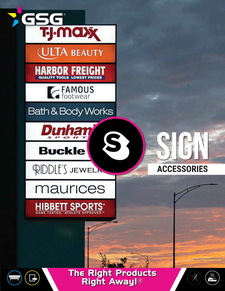 Sign Accessory Guide